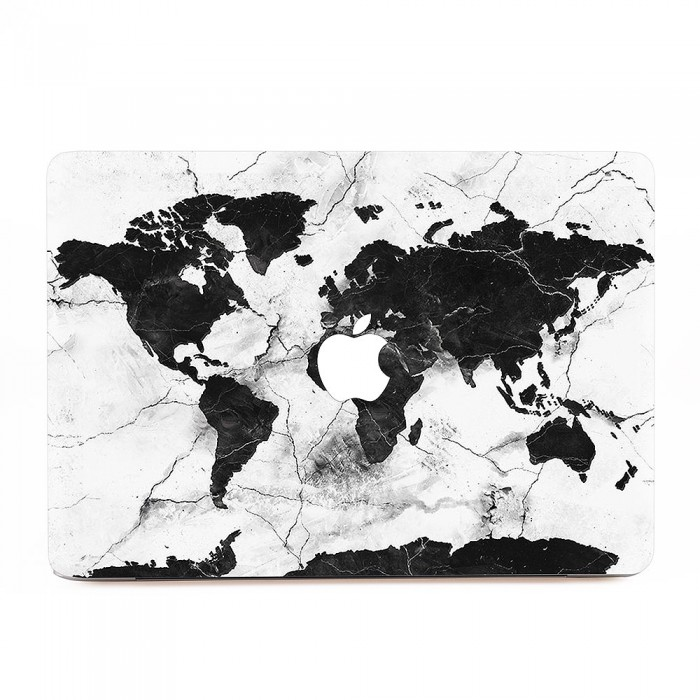 World map marble macbook skin decal world map marble apple macbook skin decal gumiabroncs Gallery