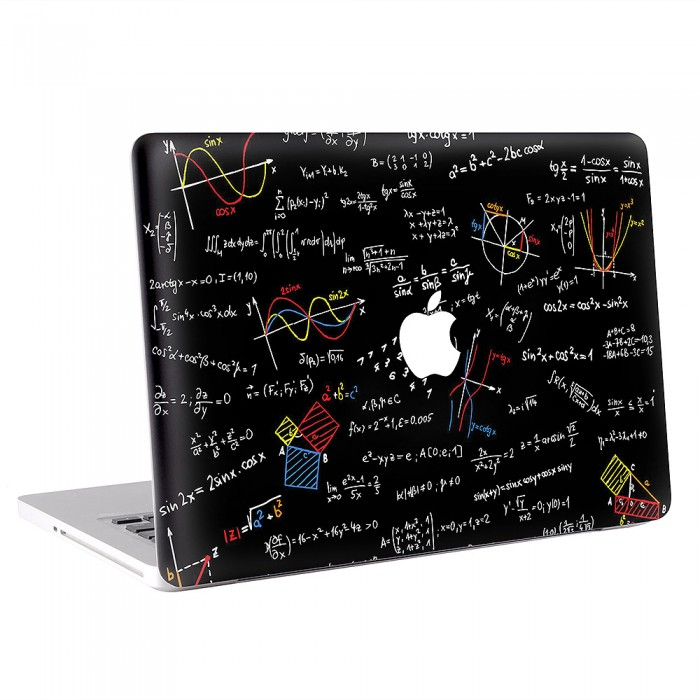 Mathematics Board Formulas  MacBook Skin / Decal  (KMB-0644)