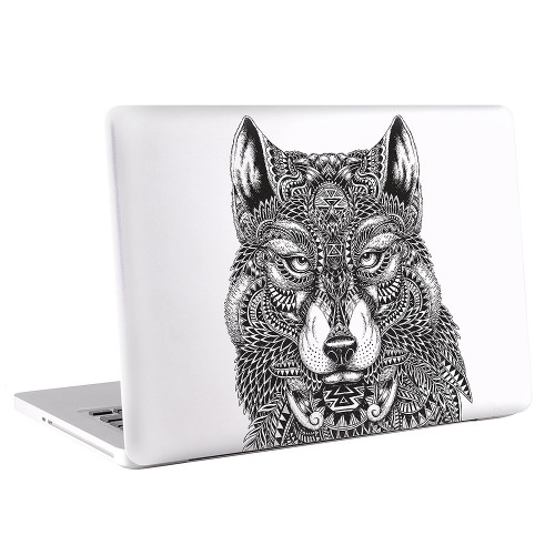 Wolf Tattoo  Apple MacBook Skin / Decal