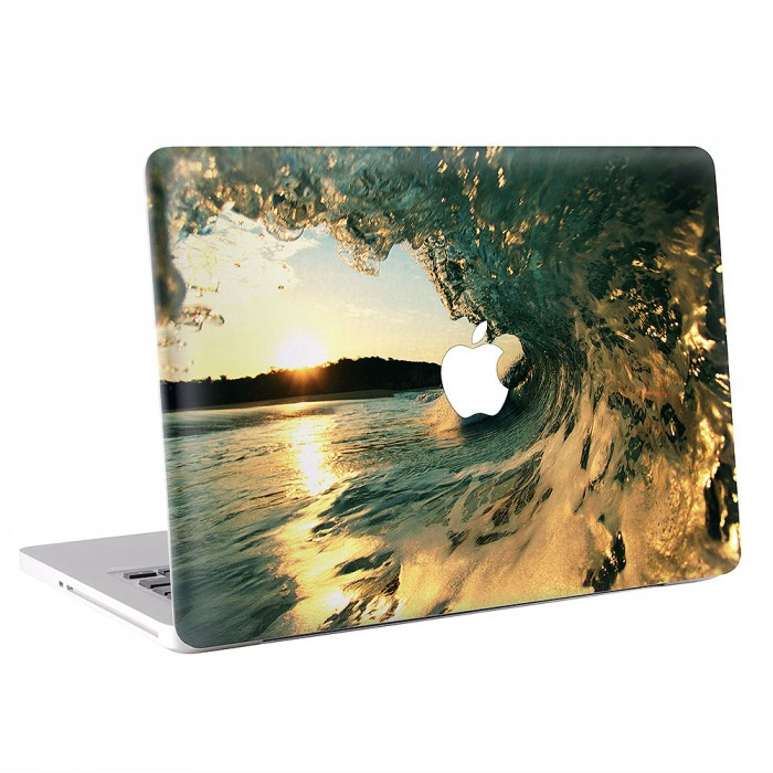Cool Surfing Wave  MacBook Skin / Decal  (KMB-0662)