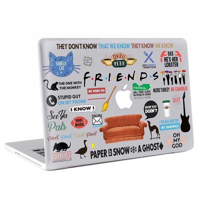 Friends TV series  MacBook Skin / Decal  (KMB-0706)