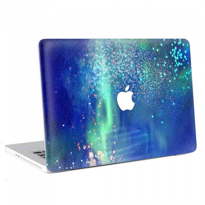 Blue Motion of The Stars  MacBook Skin / Decal  (KMB-0728)