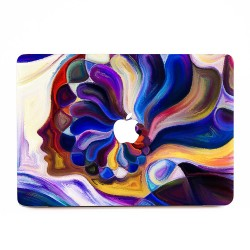 Abtract woman face Painting  Apple MacBook Skin / Decal