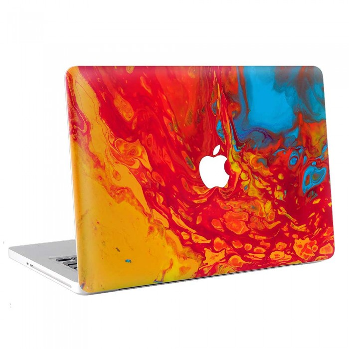 Abstract Paint  MacBook Skin / Decal  (KMB-0741)