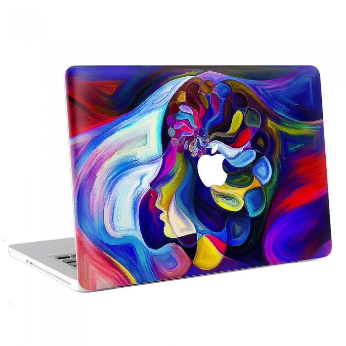 Abstract Painting Girl MacBook Skin / Decal  (KMB-0749)