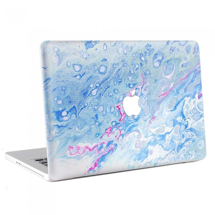 Frozen of Water Watercolor  MacBook Skin / Decal  (KMB-0750)