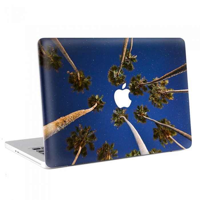 Palm Tree Night Sky  MacBook Skin / Decal  (KMB-0766)