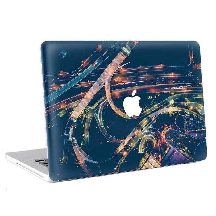 Street Traffic Light City  MacBook Skin / Decal  (KMB-0770)