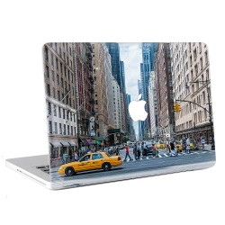 Manhattan Street New York City  Apple MacBook Skin / Decal