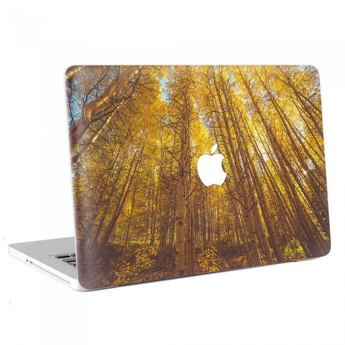Yellow Forest  MacBook Skin / Decal  (KMB-0780)