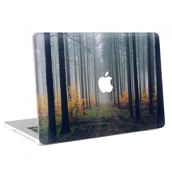Foggy Autumn Forest  MacBook Skin / Decal  (KMB-0791)
