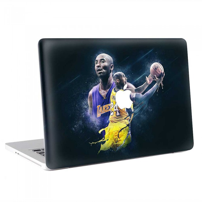 Kobe Bryant Basketball Player V.1 MacBook Skin / Decal  (KMB-0808)