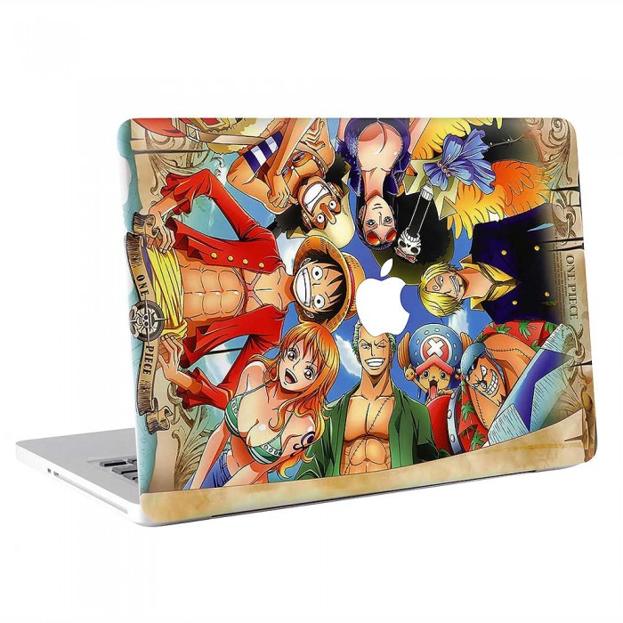 One Piece Luffy Straw Hat Pirate  MacBook Skin / Decal  (KMB-0813)