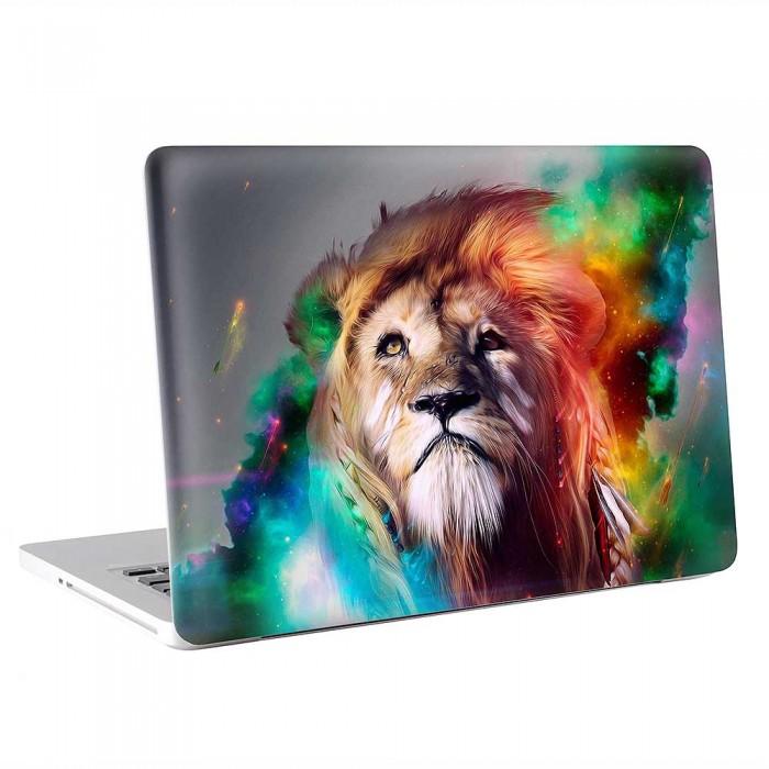 Abtract Art Lion  MacBook Skin / Decal  (KMB-0826)