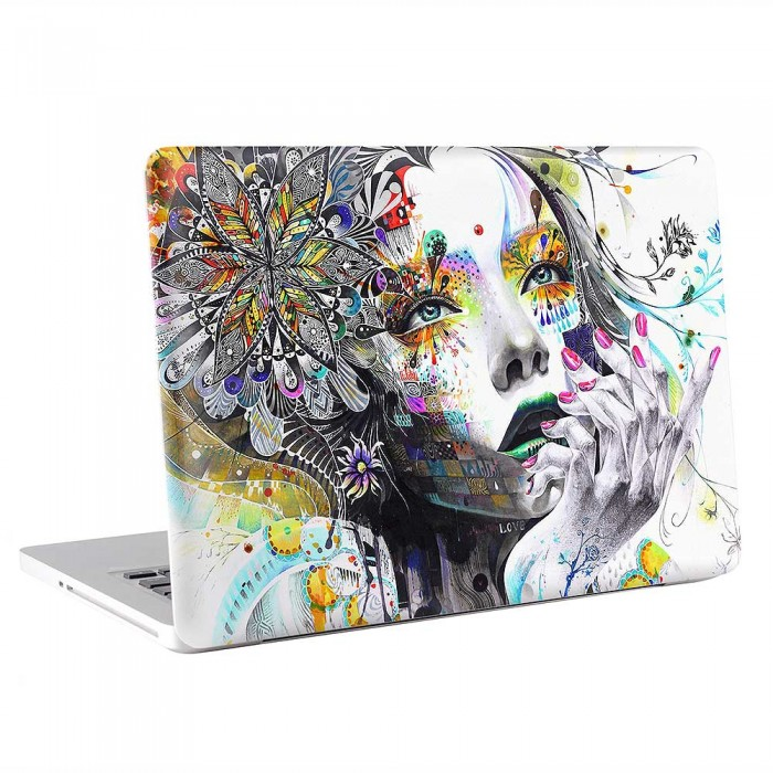 Beutiful Face Art  MacBook Skin / Decal  (KMB-0828)