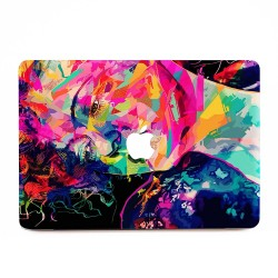Abstract Face Art  Apple MacBook Skin / Decal