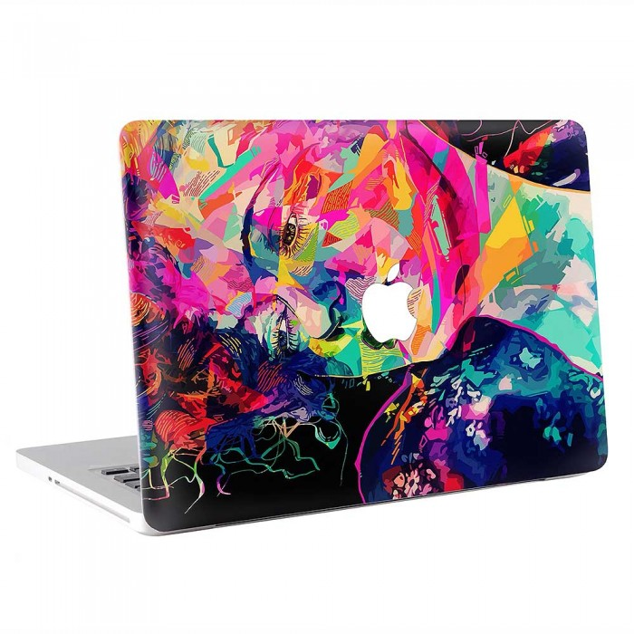 Abstract Face Art  MacBook Skin / Decal  (KMB-0832)