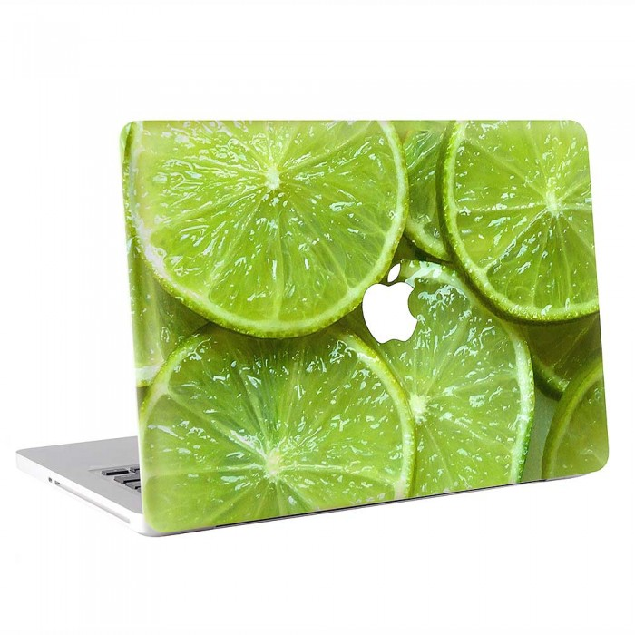 Lime Lemon Slices Fruit  MacBook Skin / Decal  (KMB-0856)