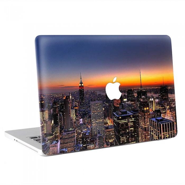 New York Building America  MacBook Skin / Decal  (KMB-0857)
