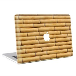 Bamboo Wall  Apple MacBook Skin / Decal