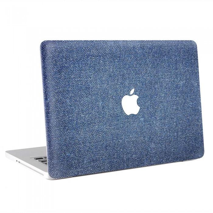Denim Fabric Texture  MacBook Skin / Decal  (KMB-0870)