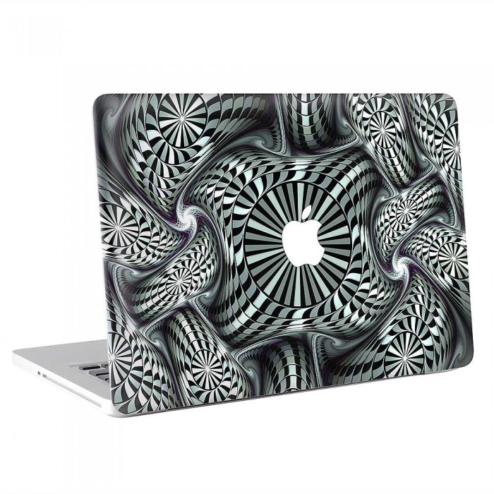 Hypnotic Fractal  MacBook Skin / Decal  (KMB-0873)