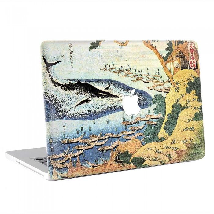 Hokusai Oceans of Wisdom  MacBook Skin / Decal  (KMB-0879)