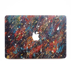 Abstract Oil Paint  Apple MacBook Skin / Decal