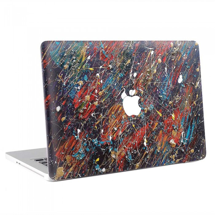 Abstract Oil Paint  MacBook Skin / Decal  (KMB-0880)