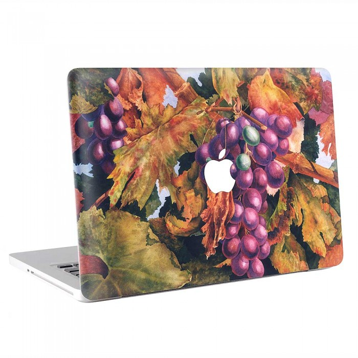 Grapes Watercolor Art  MacBook Skin / Decal  (KMB-0895)