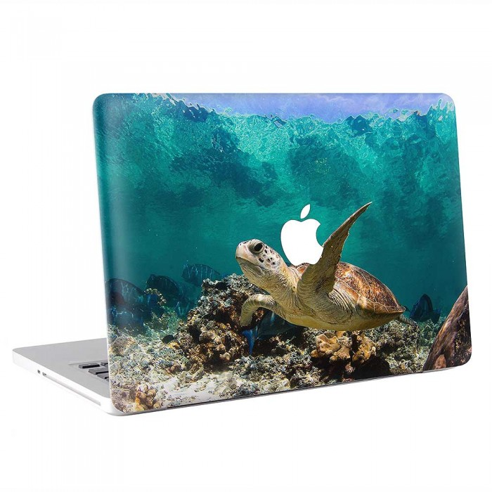 Sea Turtle Underwater  MacBook Skin / Decal  (KMB-0896)