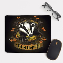 Harry Potter Houses Hufflepuff Mouse Pad Round or Rectangle