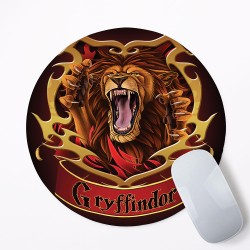 Harry Potter Houses Gryffindor Mouse Pad Round or Rectangle