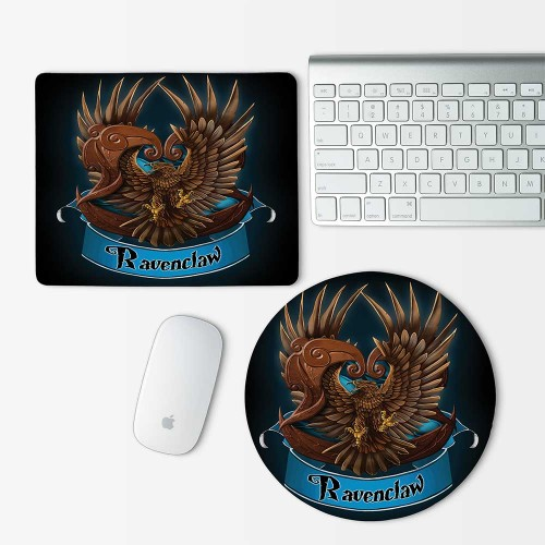 Harry Potter Houses Ravenclaw Mouse Pad Round or Rectangle