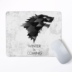 Stark Game of Thrones Winter is comming Mouse Pad Rectangle