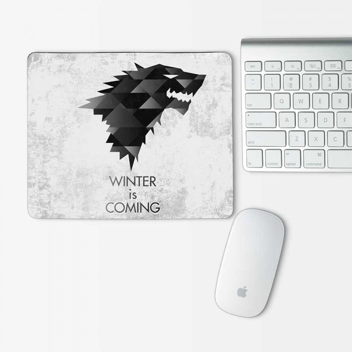 Stark Game of Thrones Winter is comming Mouse Pad Rectangle (MP-0067)