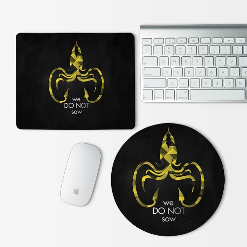 Game Of Thrones House Greyjoy Mouse Pad Round or Rectangle