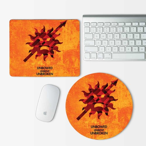 Game Of Thrones House Martell Mouse Pad Round or Rectangle