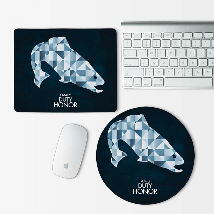 Game Of Thrones House Tully Mouse Pad Round or Rectangle (MP-0080)