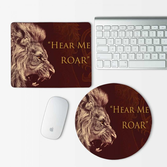 Game Of Thrones House Lannister Mouse Pad Round or Rectangle (MP-0081)