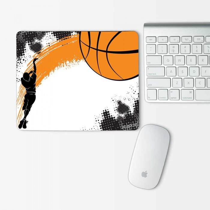 Basketball v.1 Mouse Pad Rectangle (MP-0091)