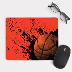 Basketball v.2 Mouse Pad Rectangle