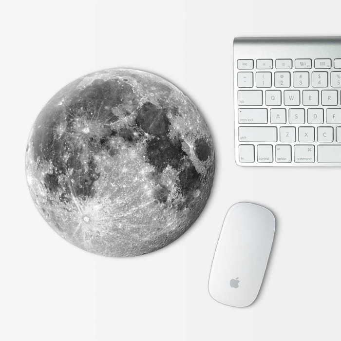 Moon v.1 Mouse Pad Round (MP-0096)