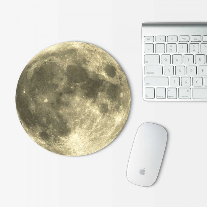 Moon v.2 Mouse Pad Round (MP-0097)