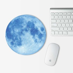 Moon v.3 Mouse Pad Round