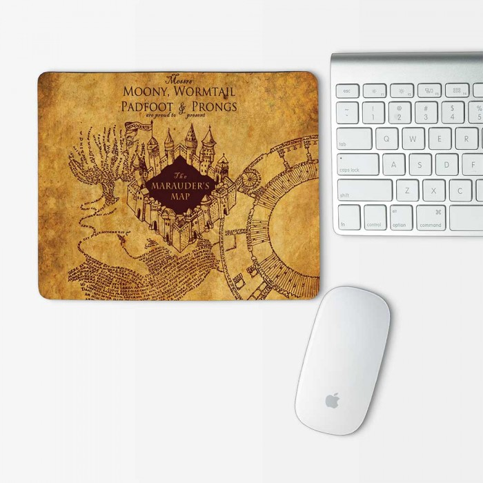 Harry Potter Marauders Map Mouse Pad Rectangle (MP-0099)