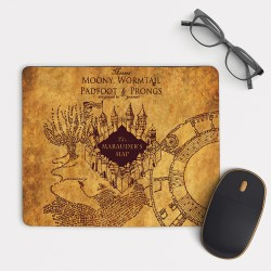 Harry Potter Marauders Map Mouse Pad Rectangle