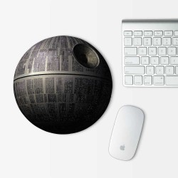 Death Star Star Wars Mouse Pad Round