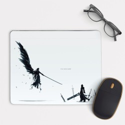 Final Fantasy VII Cloud vs Sephiroth Mouse Pad Round or Rectangle