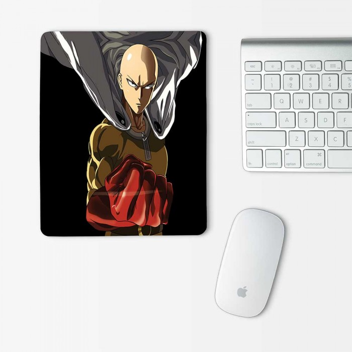 Saitama One Punch Man Mouse Pad Rectangle (MP-0118)